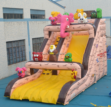 Animal Forest Giant inflatable water slide for sale