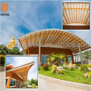 Plastic Small Wave For commercial building Roofing tiles / Glass Houses
