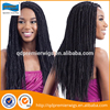 2017 new arrival 100% high quality human hair box braid lace wig for black women