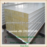 fire rated rock wool sandwich panel