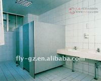 wood Phenolic toilet partition /Compact Laminate Toilet Partition / toilet cubicle division