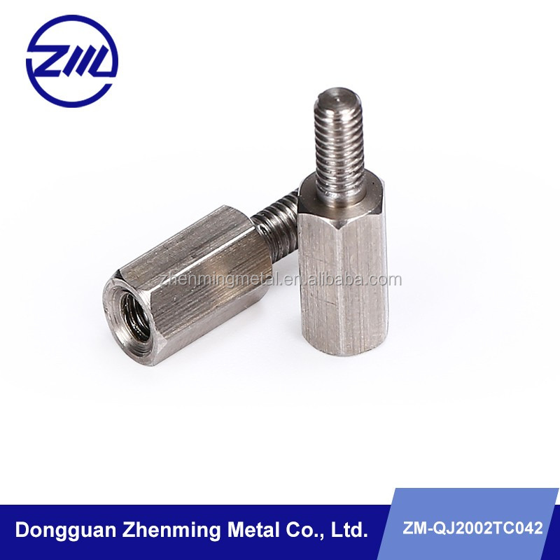 steel female thread bushing male thread rods double use hardware item