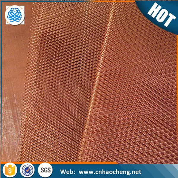 Factory price 16 mesh conductive copper net/brass decorative wire mesh for cabinets