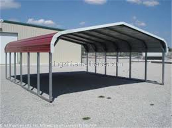 Metal Outdoor Shelters : Outdoor backyard car shelter steel structure