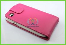 pink leather cell phone bag for nokia