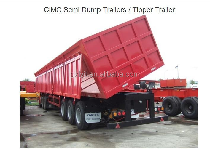 Tipper Trailer for carry gravel
