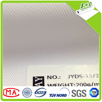 best quality woven twill white digital printing polyester fabric for roll up banner