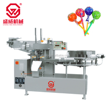 automatic lollipop candy packaging machine, lollipop wrapping machine