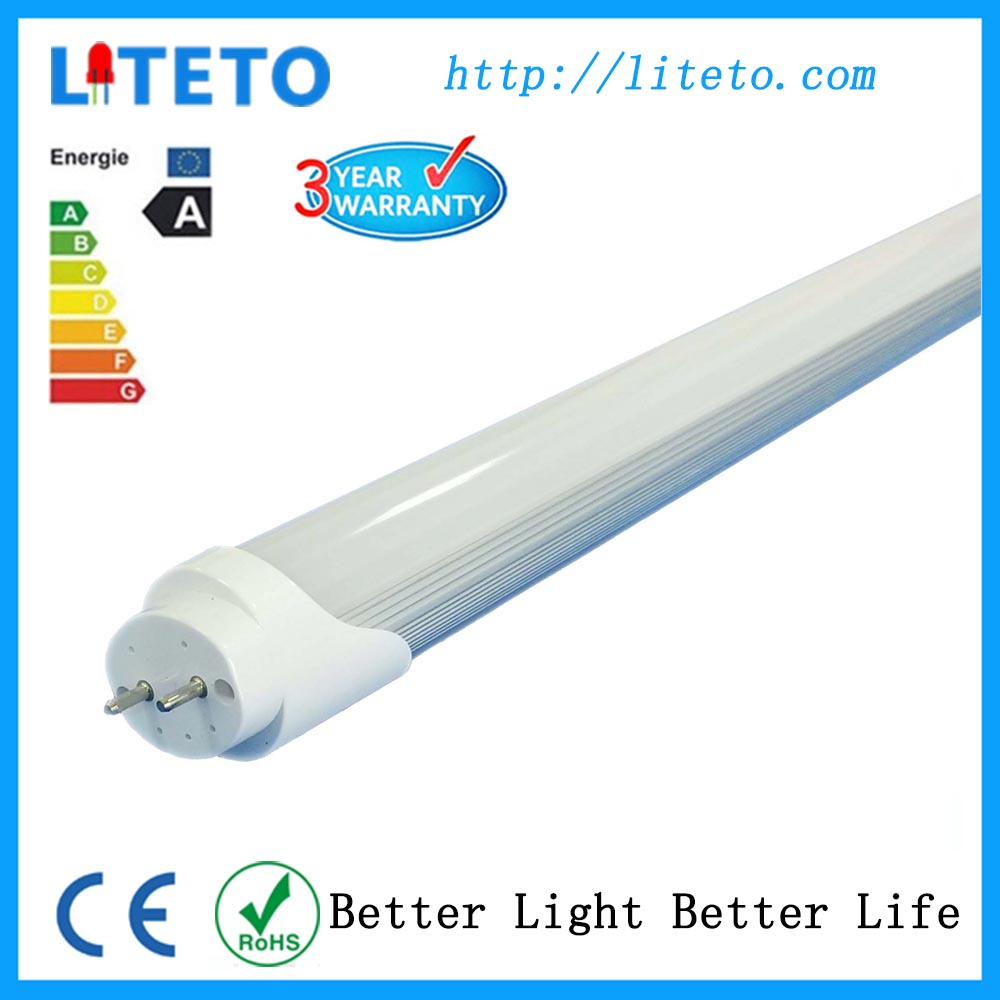Lamparas led lighting CE RoHS frosted cover 1200mm 18w t8 led tube with motion sensor