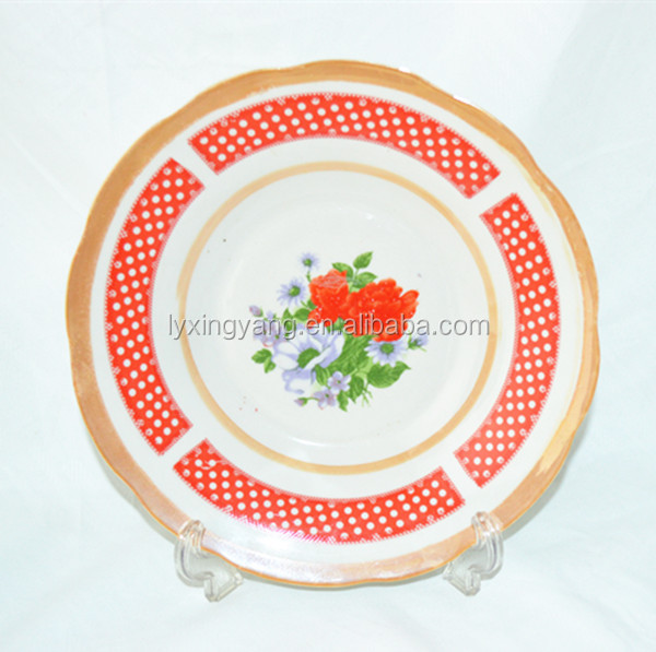 wholesale souvenir plate,vintage dinner plates ,whole home dishes to Middle east market