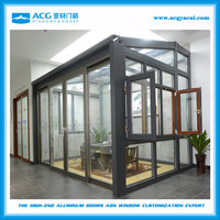 aluminum profile garden sun room /sun house / summer house/ glass room