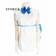 Japan anime Japanese teacher girl Hestia Danjon ni deai o motomeru no wa machigatte irudarou k uniform cosplay costume