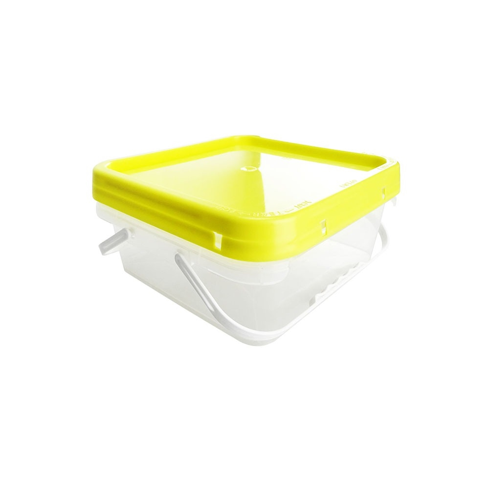 all size pp plastic transparent square plastic container
