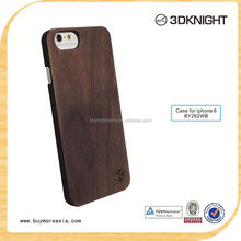 Wood pc case hard cover, custom design wooden cell phone case for iPhone 6s, Blank Wood Case for Iphone