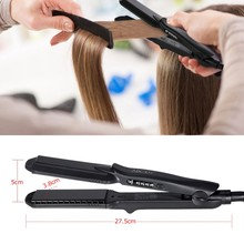 Abody 4 in 1 Functional Hair Straightener and Hair Curler Professional Flat Iron Temperature Control UK Plug W4316EU