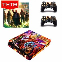 THTB Cover Sticker For PS4 Slim Console Skins