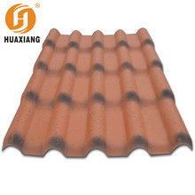 Trustworthy ASA plastic pvc roof tile/Royal type/720/plastic roofing