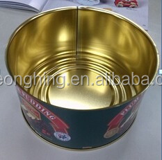 Brand products 100% waterproof weld easy open food tin can