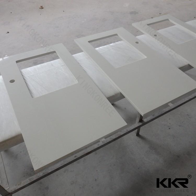 Marble Looking Light Grey Vein White Quartz Stone Countertop Buy