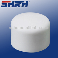 pvc conduit fitting threaded pvc end cap