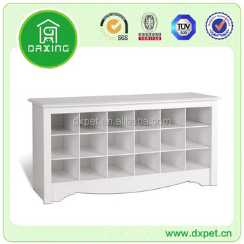 Chinese furniture new style shoe cabinet with seat