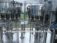 Plastic/Glass bottle water/juice/carboated juice filling machine/line