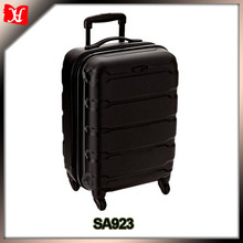 High quality Black Travel Rolling Bag Nylon Luggage Bag