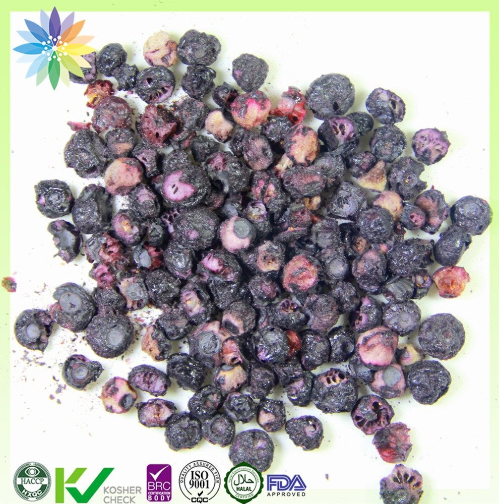 dehydrated fruit freeze dried blueberry