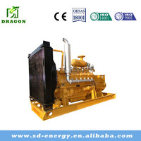Hot seller natural gas powered generator 90KW to serving the electric power for mini plant