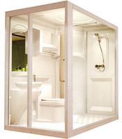 Easy installation unit bathroom pod long using life time cheap shower cabin