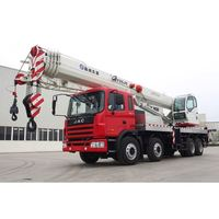 Discount telescopic truck with crane 10 ton used for rough terrain