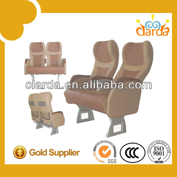 armrest for bus seat leather cushion