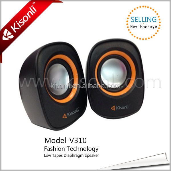 Factory sell plastic molded speaker/smartphone mini speaker
