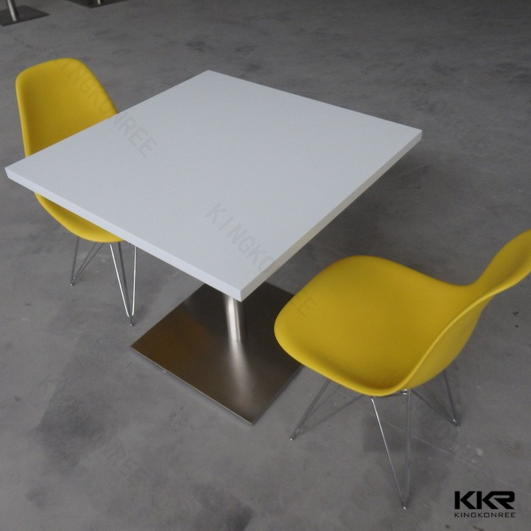white acrylic dining tables and chairs for fast food
