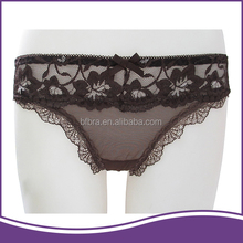 European style safety material not plastic thong panties in wholesale