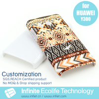 OEM custom mobile phone case for Huawei Y300/custom design cell phone case