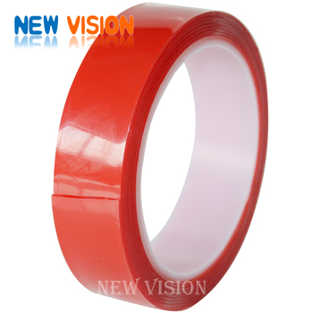 Equalvent 3M VHB Tape Double Sided Acrylic Foam Tape Transparent Tape With Red Liner