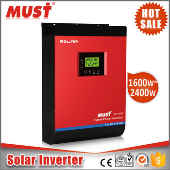 MUST Portable Air Conditioner Hybrid Power Inverter Solar 48vdc 3000w/4000w for Home Use
