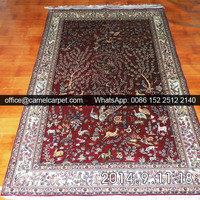 orian accent handmade silk popular carpet