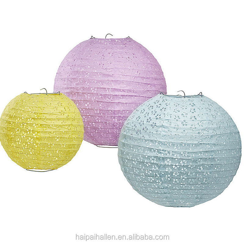 "12"" INCH Tissue Paper Diamond Hanging honeycomb balls wedding party decoration"