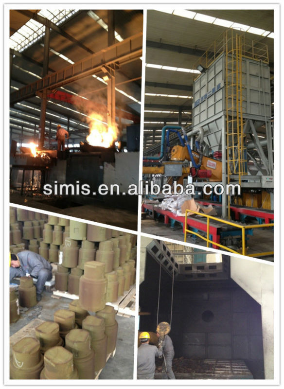 alloy steel cast/machinery parts/casting and machined service