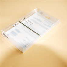 Hot sale 100% eco-frindly material for cell phone case plastic box packaging