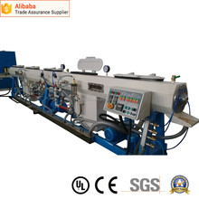 Long used PE PP plastic pipe extruder machine