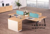 new design office supply wholesale distributors workstation for 4 seats MH-6230