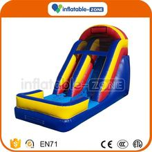 10 years factory inflatable hippo water slide used inflatable water slides