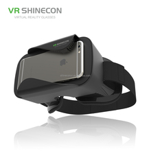 Hot Selling VR Glasses Adjustable Lens Colourful VR Shinecon 3d virtual reality vr case 3.0