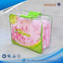 Travel clothes bedding sheets blanket pvc plastic packing bag