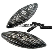 FOR Kawasaki ZX14 ZX-14 ZX14R ZX-14R 2006-2007 Carbon Fiber MIRRORS BASE PLATES