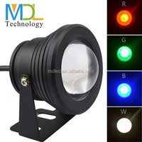 10W COB RGB color used swimming pool led underwater lighting for sale
