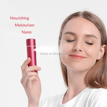 2017 NEW rechargeable face mist portable mini facial steamer Mini Portable Face Steamer Nano Face Steamer Facial Spray